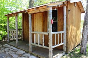Great accommodations for a family that wants to have a comfortable place to sleep but love spending time outdoors.