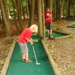 Mini Putt at Gordon's Park Manitoulin Island