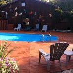 onsite activities solar heated swimming pool Manitoulin Island
