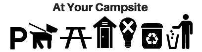 Amenities at your campsite for group camping