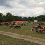 group camping for boy scouts and girl guides at Gordon's Park