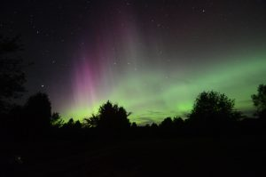 Astronomy, aurora borealis, northern lights, telescope, stargazing, dark sky preserve events